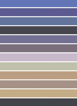 Colour Palette (Alexander Liberman)