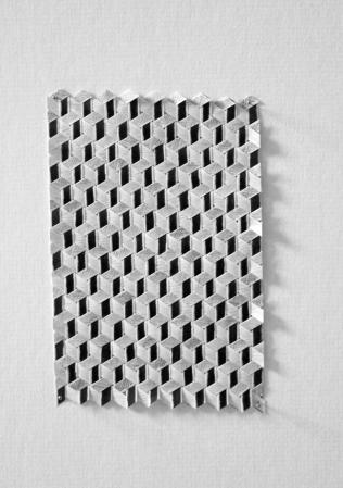 isometric graphite weave