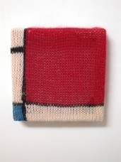 knitted mondrian