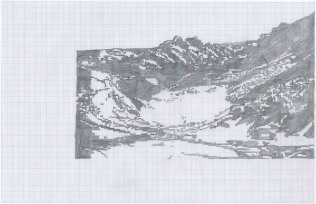 Jungfraubahn Postcard Knitting Pattern