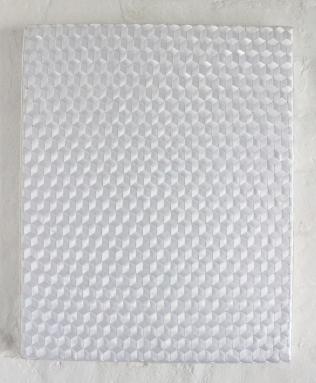 Ribbon Weave White