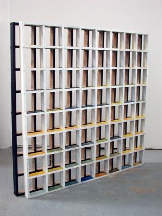 installation view of work in progress