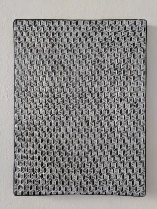 Monochrome Isometric Weave