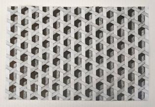 Grid Graphite Weave